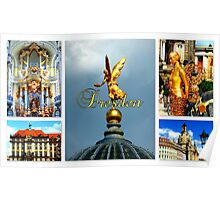 Dresden ~ City of Golden Splendour Poster