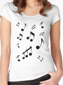 Music LifeT-Shirts & Hoodies Women's Fitted Scoop T-Shirt