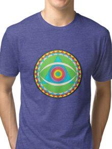 Gong Logo Tri-blend T-Shirt