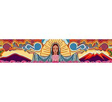 Virgin Mary of Guadalupe Illustration Photographic Print