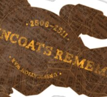 Browncoats Remember Sticker