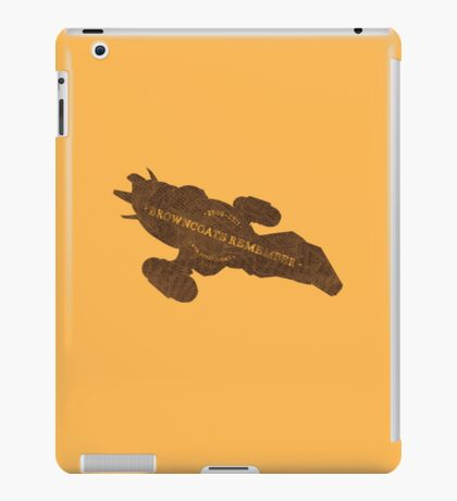 Browncoats Remember iPad Case/Skin