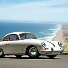 1964 Porsche 356 B Coupe by DaveKoontz