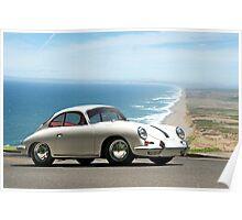 1964 Porsche 356 B Coupe Poster