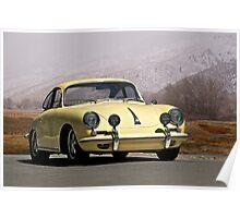 1964 Porsche 356 Coupe Poster