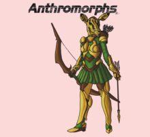 Anthromorphs Doe One Piece - Long Sleeve