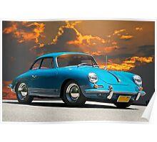 1965 Porsche 356 SC Coupe Poster