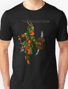 Anthromorphs frog warrior T-Shirt