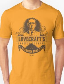 Lovecraft's Canned Octopus T-Shirt