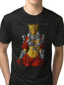 Anthromorphs Leopard Tri-blend T-Shirt