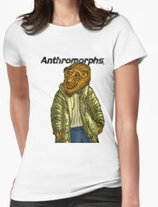 Anthromorphs Lion Womens Fitted T-Shirt