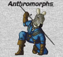Anthromorphs Zebra Baby Tee