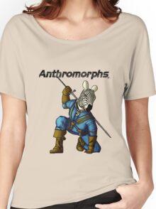 Anthromorphs Zebra Women's Relaxed Fit T-Shirt