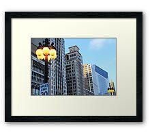 Chicago Scapes Framed Print
