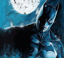 Batman with bats by chickenhead