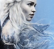 Daenerys Targaryen: Game of Thrones by chickenhead