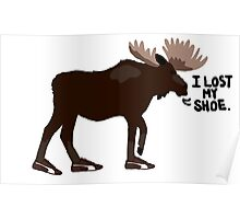 "Sam Winchester - Supernatural - ""I lost my shoe"" Poster"