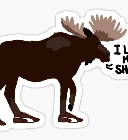 "Sam Winchester - Supernatural - ""I lost my shoe"" Sticker"