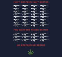 no weapon no death  (dark bg) by alphaville