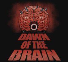 Dawn of the Brain by TeeKetch