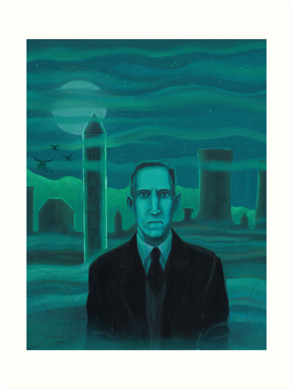 HP Lovecraft the explorer by aglastudio