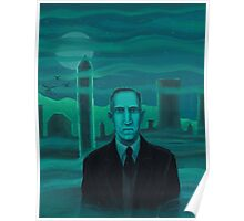 HP Lovecraft the explorer Poster