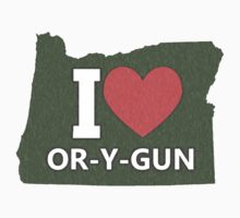 I love Oregon by Everwind