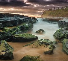 'South Bombo Beach, Kiama NSW' by Kerrod Sulter