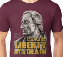 Patrick Henry - Liberty or Death Unisex T-Shirt