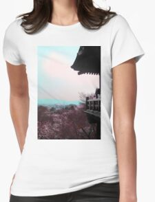 A Glimpse Beyond (Kyoto, Japan) Womens Fitted T-Shirt
