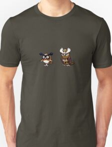 Hoothoot evolution Unisex T-Shirt