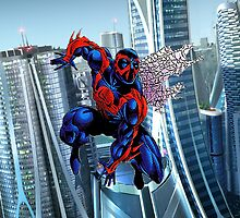 Spiderman 2099 (Case) by CommonCasualty