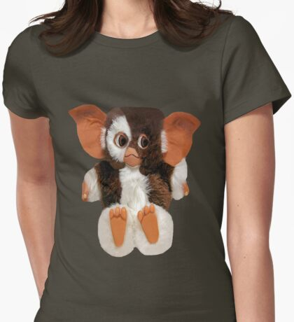 ❤ 。◕‿◕。 GIZMO TEE SHIRT❤ 。◕‿◕。gotta luv him and i do hugs❤ 。◕‿◕。 Womens Fitted T-Shirt