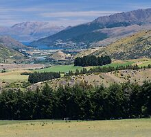 Hills & Lake by Vickie Burt