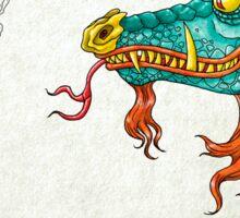 Morning Dragon Sticker
