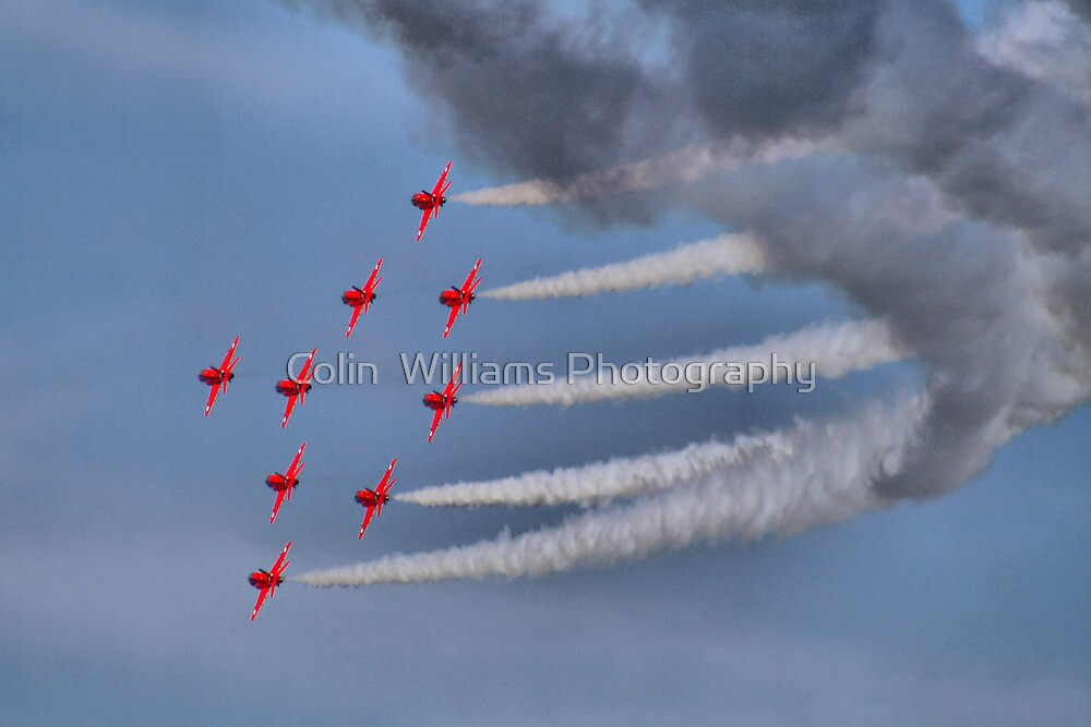 The Red Arrows - Dunsfold 2013 by Colin  Williams Photography
