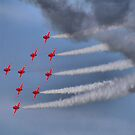 The Red Arrows - Dunsfold 2013 by Colin J Williams Photography