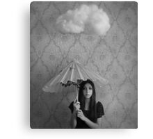 I love the rain, but it follows me home Canvas Print