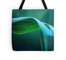 Corn Stalk Leaf Tote Bag