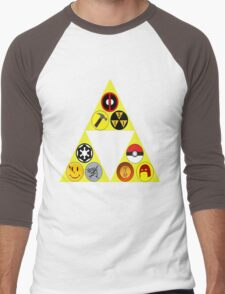 Referenceception Men's Baseball ¾ T-Shirt