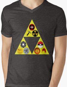 Referenceception Mens V-Neck T-Shirt