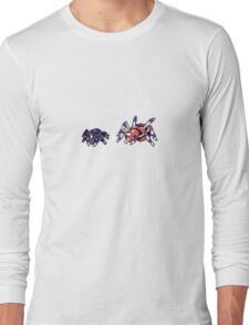 Spinarak evolution Long Sleeve T-Shirt