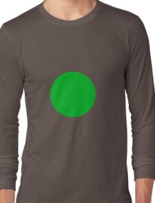 Circle Green Long Sleeve T-Shirt