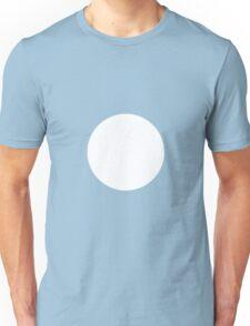 Circle White Unisex T-Shirt