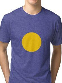 Circle Yellow Tri-blend T-Shirt