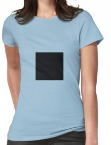 Square Black Womens Fitted T-Shirt