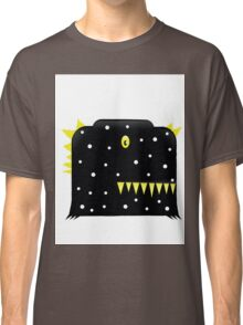 illustration of a black color  monster funny Classic T-Shirt