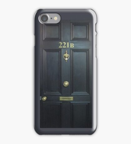 221b Baker St. iPhone Case/Skin