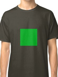 Square Green  Classic T-Shirt