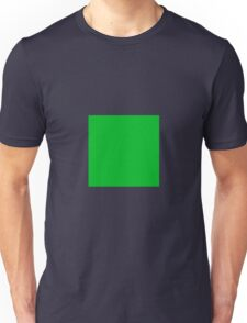 Square Green  Unisex T-Shirt